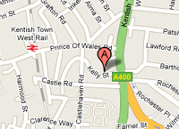 Location of Elton & Co London NW1